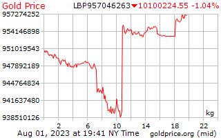 1 יום זהב המחיר לכל קילוגרם במכלאות לבנונית
