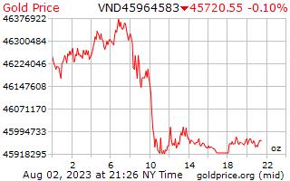 1 dag goud prijs per Ounce in Vietnamees Dongs
